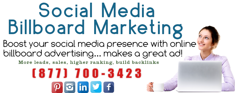 Social Media Billboard Marketing Ads